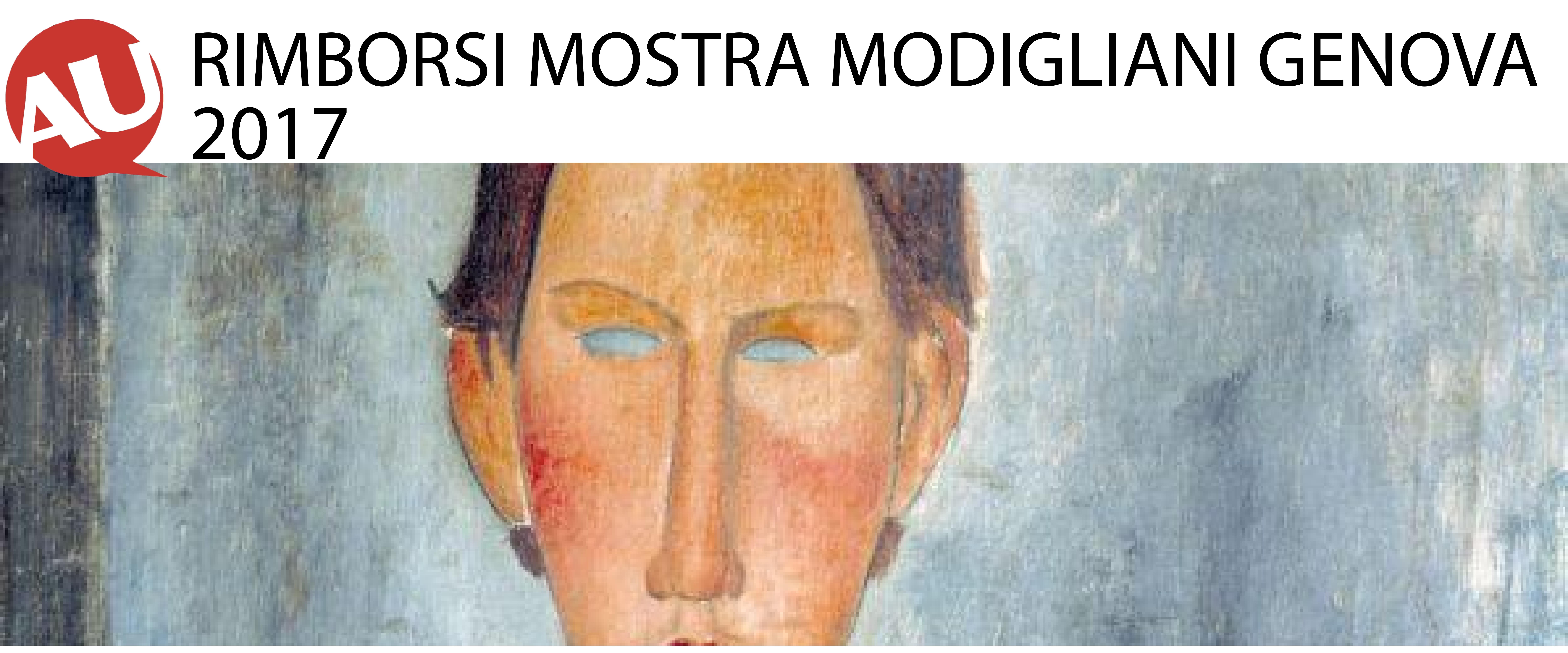 Rimborsi mostra Modigliani